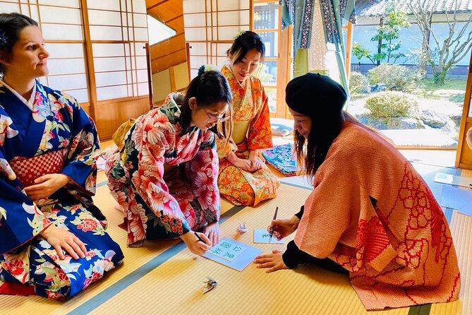 Virtual Japanese Calligraphy & Origami
