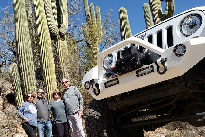 Private Sonoran Desert 4 Person U Drive Jeep Experience / Scottsdale
