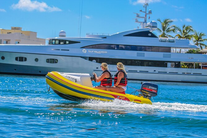 Self-Drive Boat Tour & Snorkel from Simpson Bay