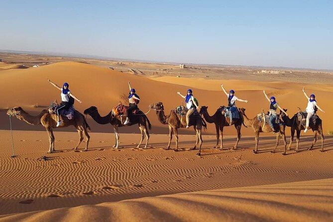 Enjoy the desert.