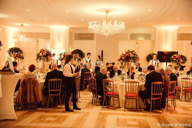 Kursalon: Strauss and Mozart Concert Including 4-Course Dinner