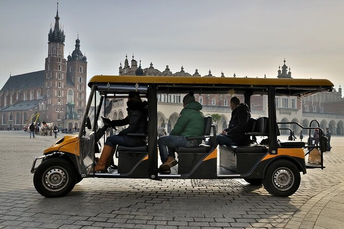 City Sightseeing in Krakow by Electric Car