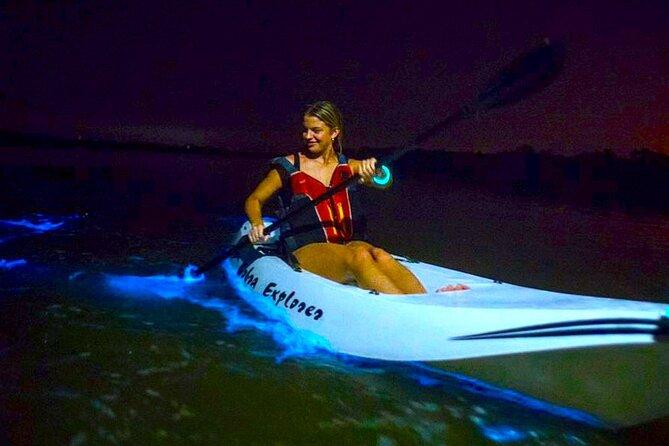 Bioluminescent Kayak Tour. Fin Expeditions is Cocoa Beaches Top Rated Kayak Tour