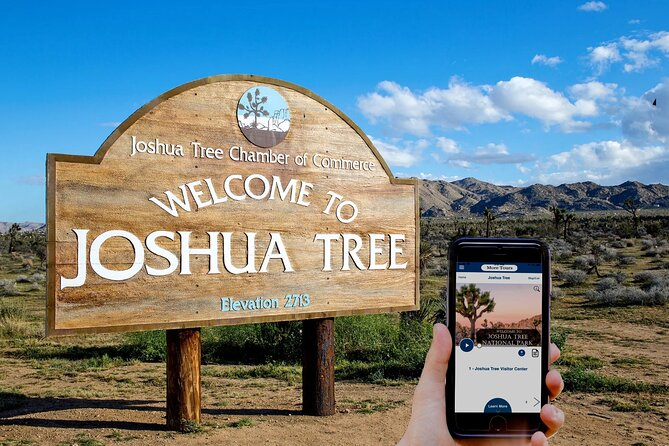 Joshua Tree National Park Self-Driving Audio Tour