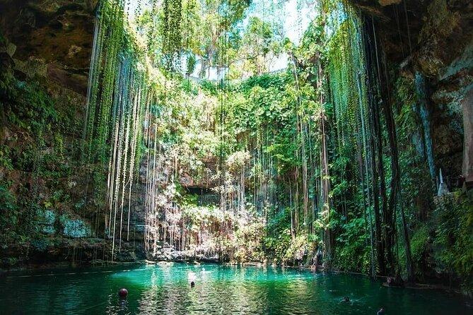 1-Day Tour to the Cenotes of Santa Bárbara from Mérida