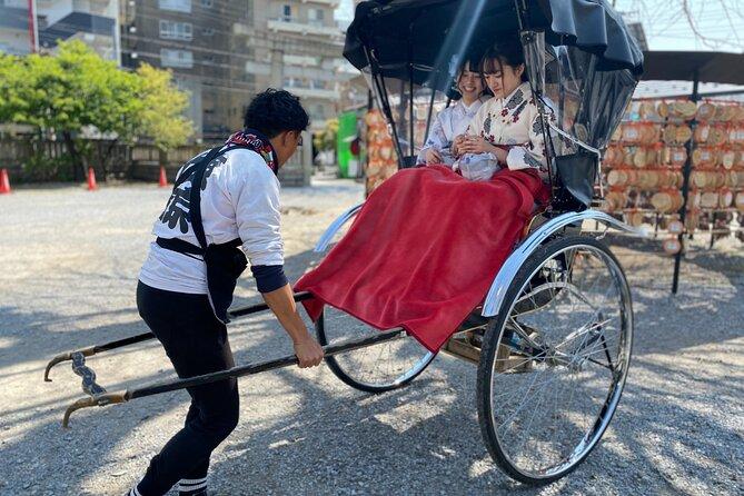 Rickshaw Trip to Asakusa-Matsuchiyama Tour