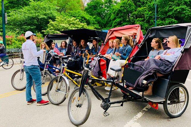 Private 2-Hour Central Park Pedicab Tour