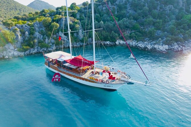 4-Day Small-Group Blue Escape Cruise from Fethiye to Demre