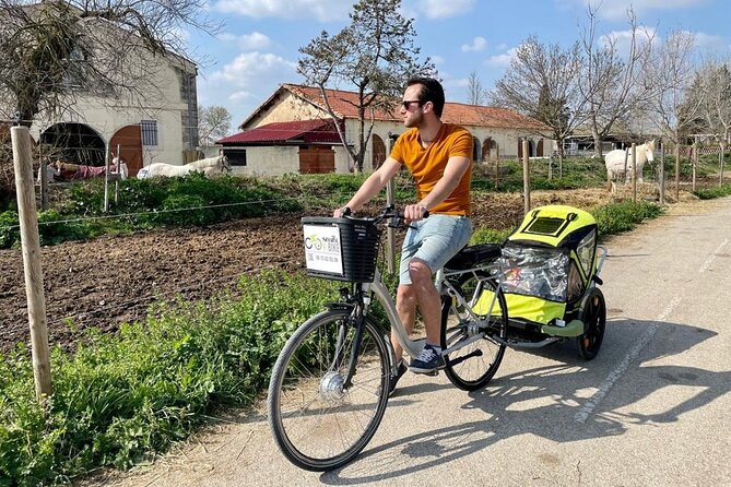 Electric bike ride in Montpellier