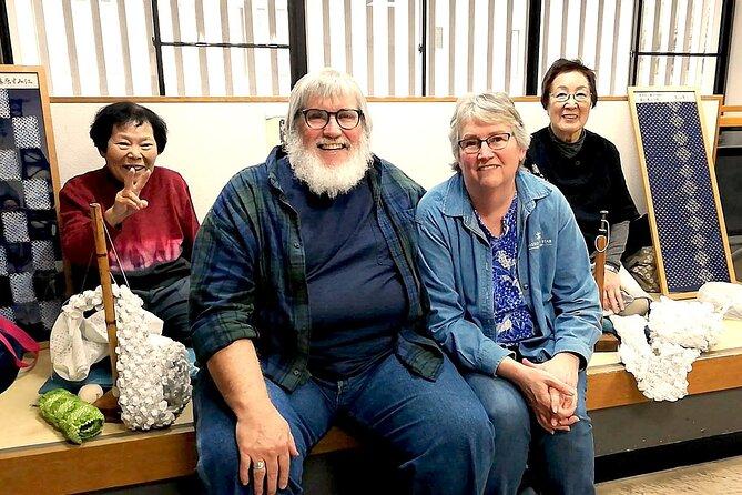 Shibori Tie-Dye Workshop and Arimatsu City Tour
