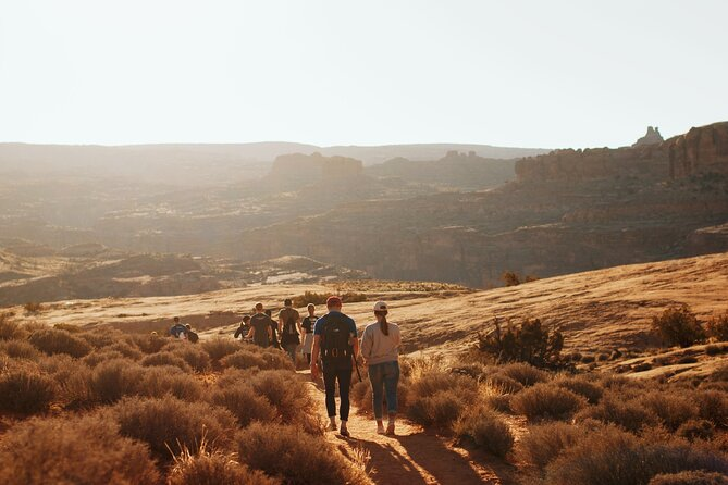 Small-Group Healthy Mind and Body Moderate Hike in Moab