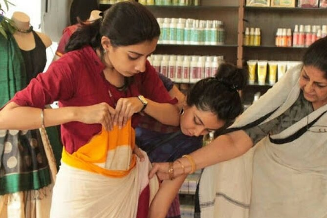 Learn Drape Indian Saree Your Self with Meal
