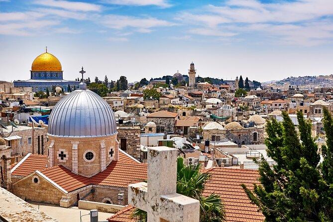 Excursión de medio día en grupo pequeño a Jerusalén desde Tel Aviv