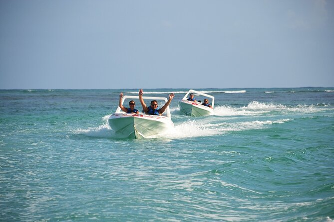 4-Hour Speedboat Sailing with Snorkeling Experience in Punta Cana