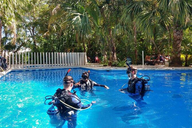3 Days Class: SDI Open Water Diver Certification in Cancun