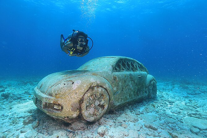 2 Tanks Scuba Diving for Beginners in Cancun ~ Personalized Service