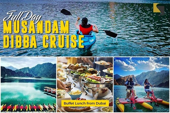 Dibba Day Cruise - Water Activities and Buffet Lunch with transfers
