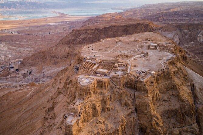 Excursión de un día en grupo pequeño a Masada y al Mar Muerto desde Jerusalén