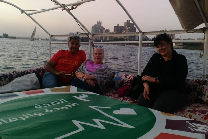 Felucca ride on the Nile with soft drink and lunch from Cairo Giza hotels