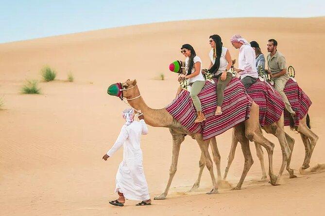 Half-Day Dubai Desert Safari with Live Shows and BBQ Dinner