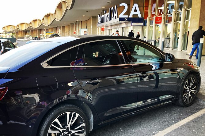 Private transfer Paris airport - Reims / Epernay