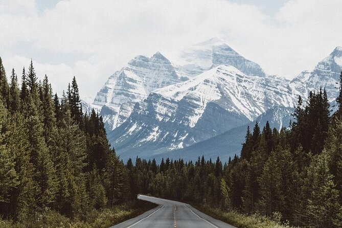 GPS-Guided Audio Driving Tour between Calgary and Vancouver