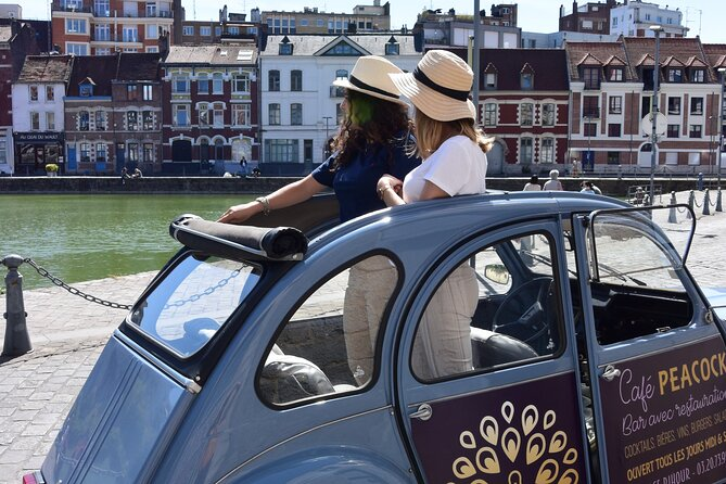 90-Minutes Private Lille Tour by Convertible 2CV with Tasting