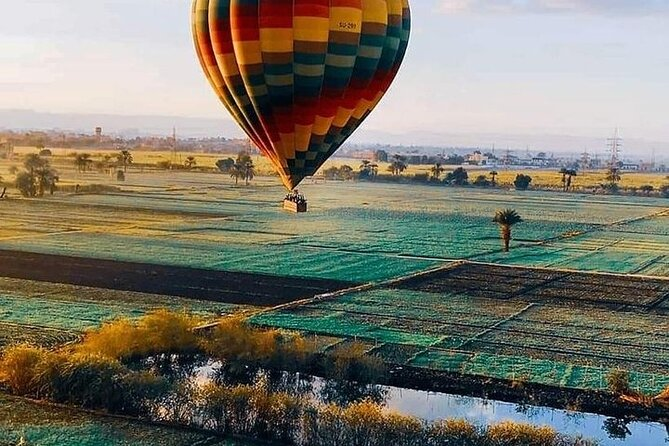 Hot Air Balloon,Kings Valley & More Tours, Sailing Felucca,City tour&Camel Ride