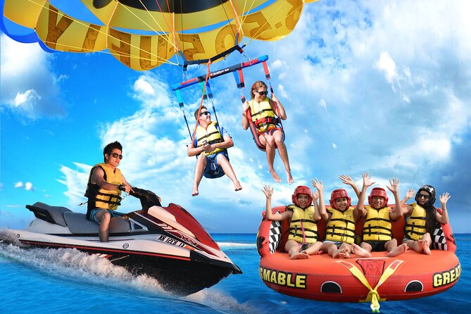 (Parasail of Jet Ski) + Tubing met Miami Watersports