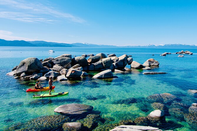North Lake Tahoe Boulders Private Exploration on a Paddle Board or Kayak