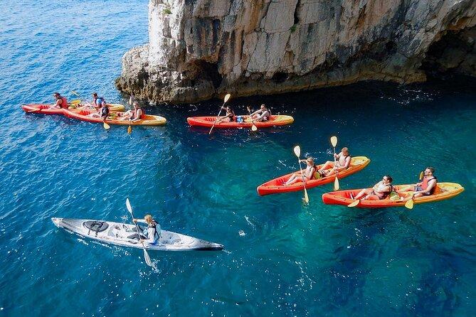 Pula Cliffs & Cave Kayaking