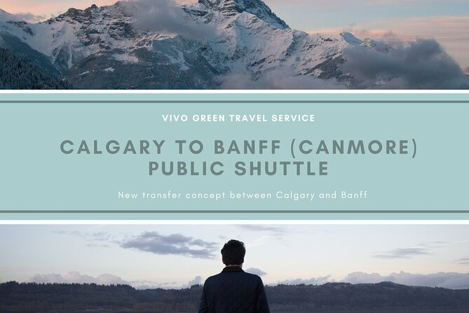 Calgary to Banff (Canmore) Public Shuttle