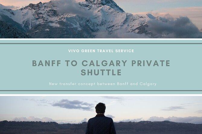Banff to Calgary Private Shuttle