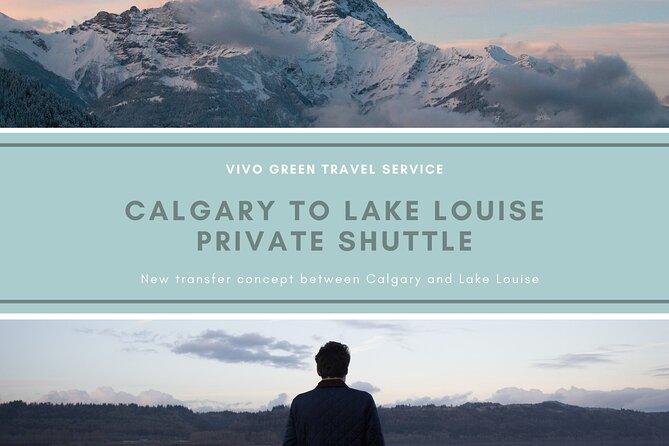 Calgary to Lake Louise Private Shuttle