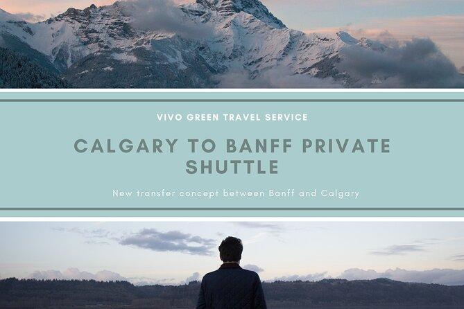 Calgary to Banff Private Shuttle