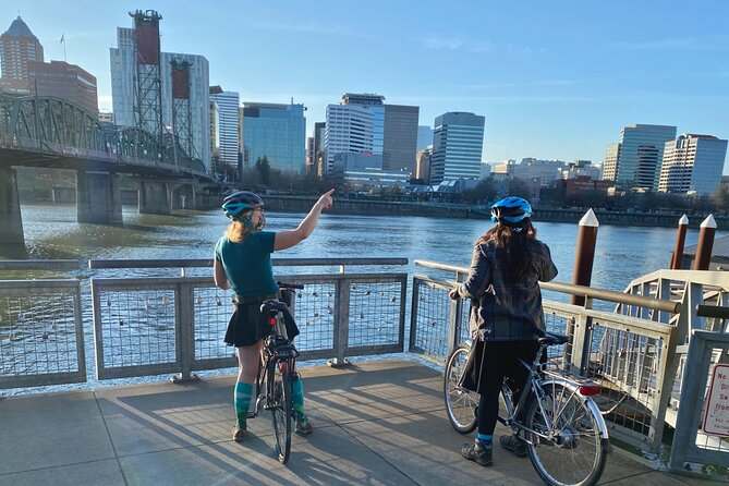 Bike Around Portland: Bridges, Doughnuts, Poetry and Roses