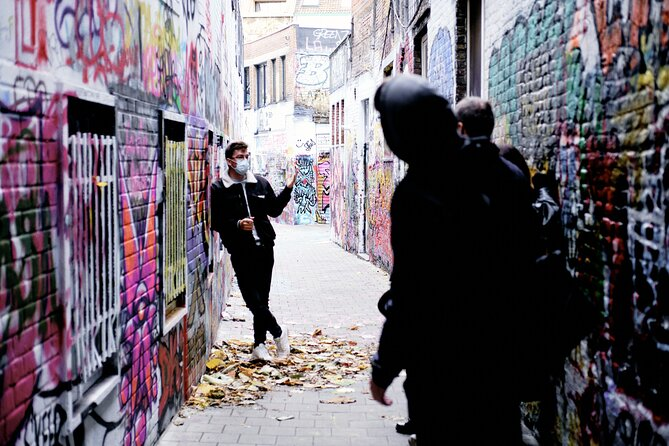 Graffiti Walking Tour in Ghent