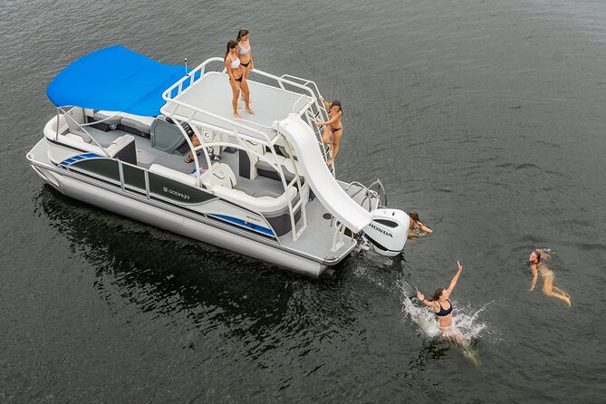 Double Decker and Family Pontoon Rental on Lake Tahoe