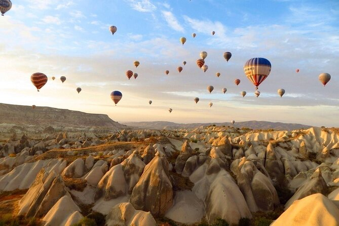 Deal Package : Hot Air Balloon Tour + Cappadocia Green Tour