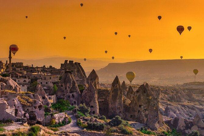 Deal Package : Hot Air Balloon Tour + Cappadocia Red Tour + Green Tour