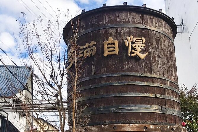 Ishikawa Brewery Tour from Tokyo with Sake Tasting by Sedan Car or Minivan
