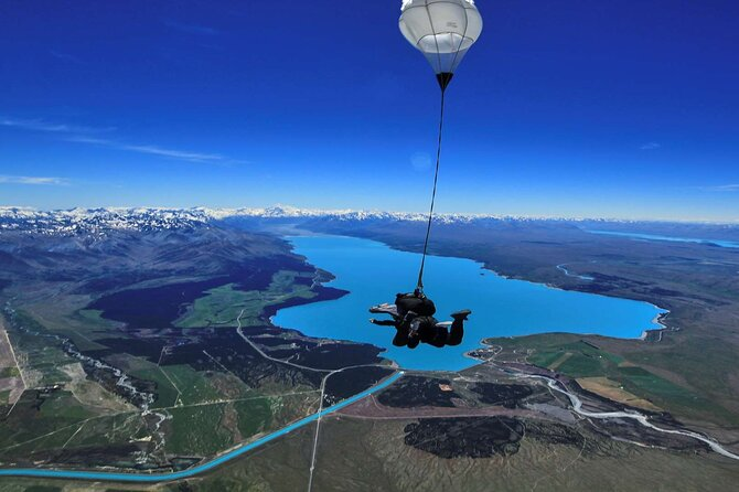 Mt Cook Tour and Sky Dive Combo from Queenstown