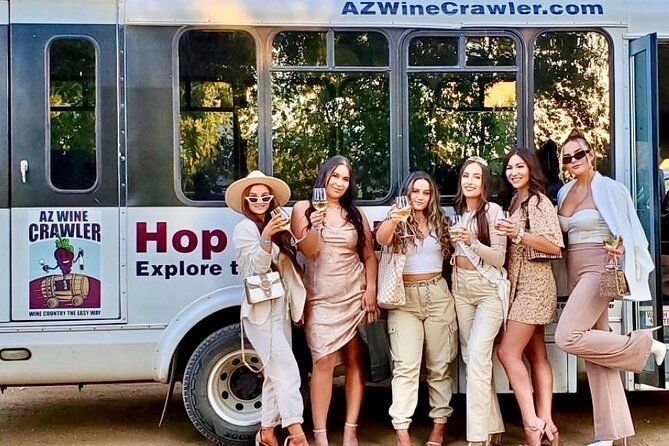 Hop-on Hop-off Wine Tour in the Verde Valley Wine Country