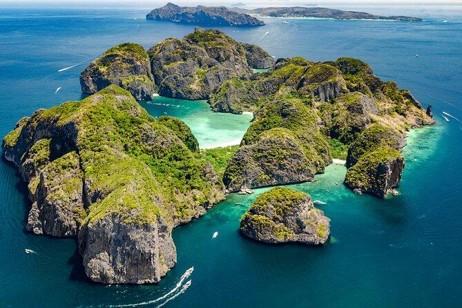 Madrugador ou Ilha Phi Phi pela manhã com excursão com mergulho com snorkel por Maya Bay