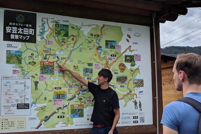It's me explaining the map