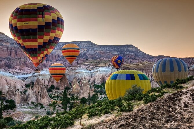 1 Night 1 Day Cappadocia Travel from Istanbul - Including Hot Air Balloon Tour
