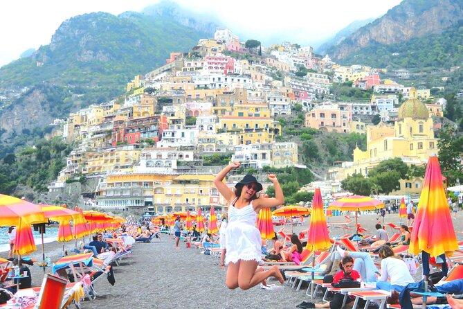 Amalfi Coast & Positano - Full Day trip from Rome or Naples - Semi private