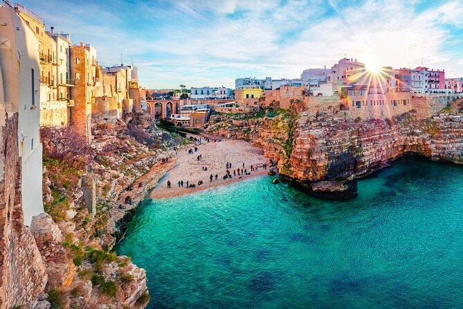4 Days Tour to Polignano in Masseria with Boat Tour