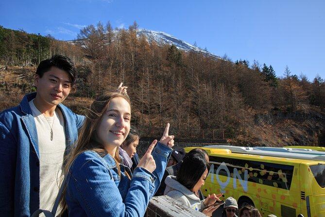 Day Trip to Mt. Fuji, Kawaguchiko and Gotemba Premium Outlets