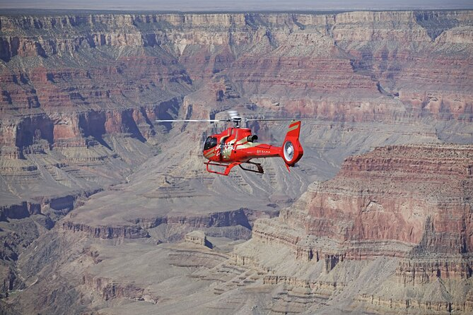 Grand Canyon helikoptervlucht van 40 minuten met optionele Hummer-tour